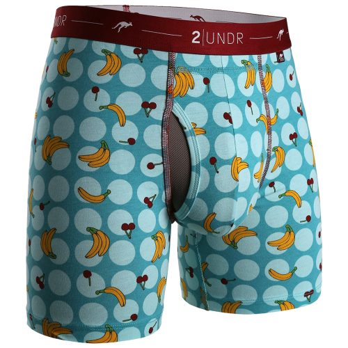 "2UNDR Day Shift 6"" Boxer Briefs Prints Spring 2017: 2UNDR Athletic Apparel"