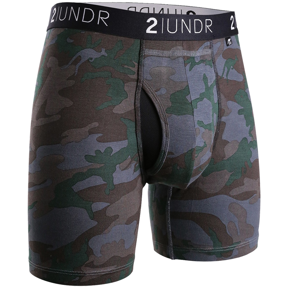 "2UNDR Swing Shift 6"" Boxer Briefs Patterns: 2UNDR Athletic Apparel"