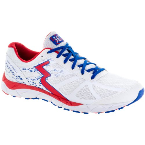 361 Feisu: 361 Women's Running Shoes White/Risk Red