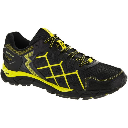 361 Ortega: 361 Men's Running Shoes Dark Shadow/Yellow