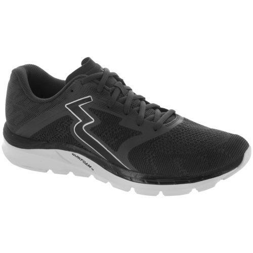 361 Spinject: 361 Men's Running Shoes Ebony/Black