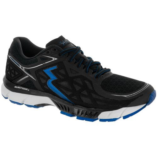361 Spire 2: 361 Men's Running Shoes Black/Nautical Blue