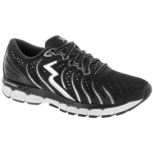 361 Stratomic: 361 Men's Running Shoes Black/Silver