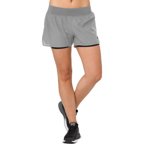"ASICS Cool 2-n-1 3.5"" Shorts: ASICS Women's Running Apparel Spring 2018"