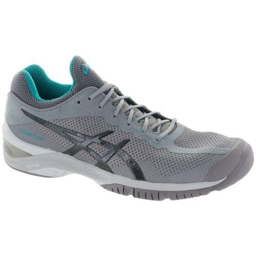 ASICS Court FF: ASICS Men's Tennis Shoes Aluminum/Dark Grey/Lapis