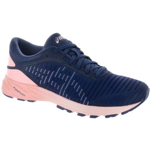 ASICS Dynaflyte 2: ASICS Women's Running Shoes Indigo Blue/White/Begonia