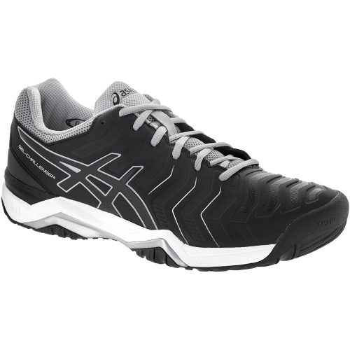 ASICS GEL-Challenger 11: ASICS Men's Tennis Shoes Black/Black/Mid Grey