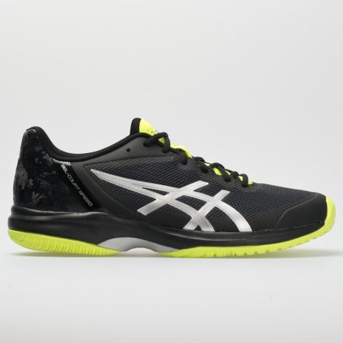 ASICS GEL-Court Speed: ASICS Men's Tennis Shoes Black/Flash Yellow
