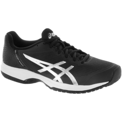 ASICS GEL-Court Speed: ASICS Men's Tennis Shoes Black/Silver/White