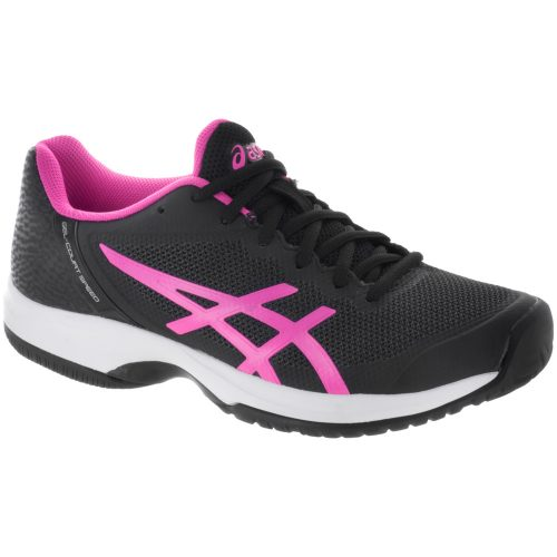 ASICS GEL-Court Speed: ASICS Women's Tennis Shoes Black/Hot Pink/White