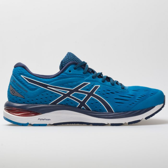 ASICS GEL-Cumulus 20: ASICS Men's Running Shoes Race Blue/Peacoat
