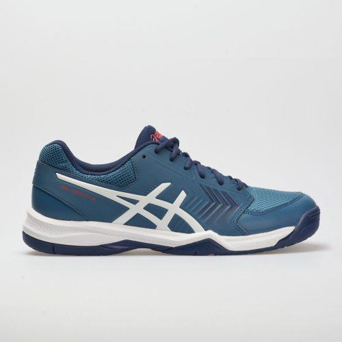 ASICS GEL-Dedicate 5: ASICS Men's Tennis Shoes Azure/White