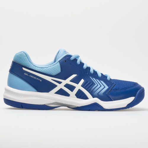 ASICS GEL-Dedicate 5: ASICS Women's Tennis Shoes Monaco Blue/White