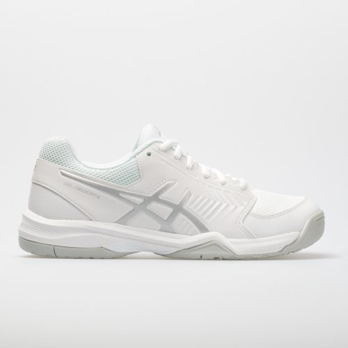 ASICS GEL-Dedicate 5: ASICS Women's Tennis Shoes White/Silver