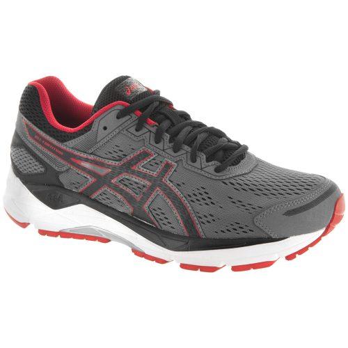 ASICS GEL-Fortitude 7: ASICS Men's Running Shoes Mix Grey/Black/Red