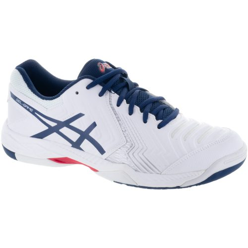 ASICS GEL-Game 6: ASICS Men's Tennis Shoes White/Insignia Blue/Silver