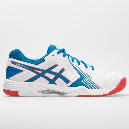 ASICS GEL-Game 6: ASICS Men's Tennis Shoes White/Race Blue