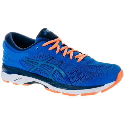 ASICS GEL-Kayano 24: ASICS Men's Running Shoes Directoire Blue/Peacoat/Hot Orange