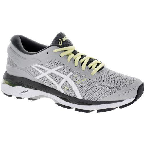 ASICS GEL-Kayano 24: ASICS Women's Running Shoes Glacier Grey/White/Carbon