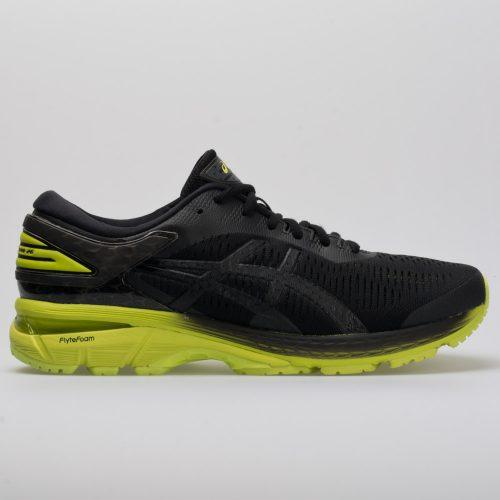 ASICS GEL-Kayano 25: ASICS Men's Running Shoes Black/Neon Lime