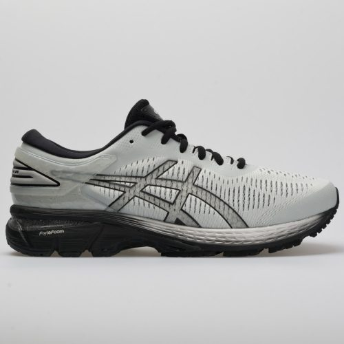 ASICS GEL-Kayano 25: ASICS Men's Running Shoes Glacier Grey/Black
