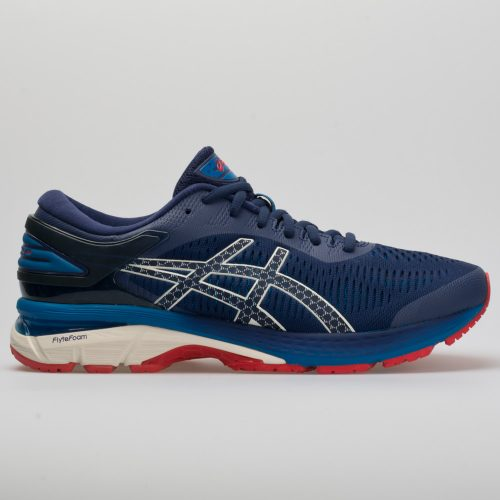 ASICS GEL-Kayano 25: ASICS Men's Running Shoes Indigo Blue/White