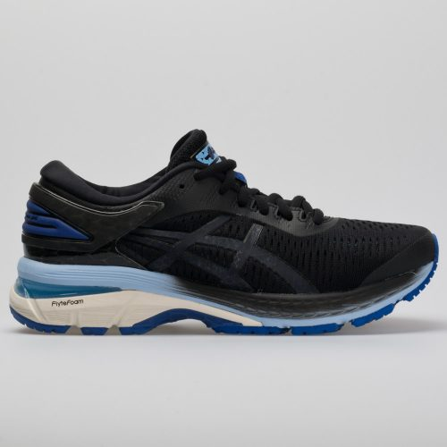 ASICS GEL-Kayano 25: ASICS Women's Running Shoes Black/ASICS Blue