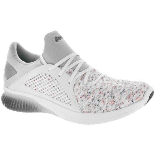ASICS GEL-Kenun Knit: ASICS Men's Running Shoes White/White/Mid Grey