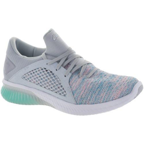 ASICS GEL-Kenun Knit: ASICS Women's Running Shoes Aruba Blue/Glacier Grey/White