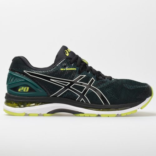 ASICS GEL-Nimbus 20: ASICS Men's Running Shoes Black/Neon Lime
