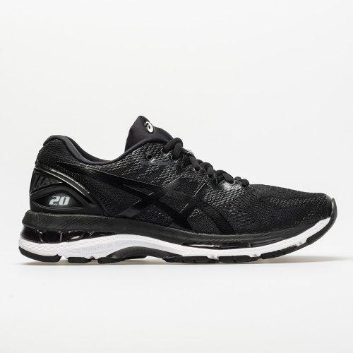ASICS GEL-Nimbus 20: ASICS Men's Running Shoes Black/White/Carbon