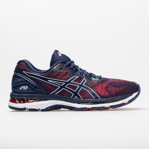 ASICS GEL-Nimbus 20: ASICS Men's Running Shoes Indigo Blue/Indigo Blue/Fiery Red