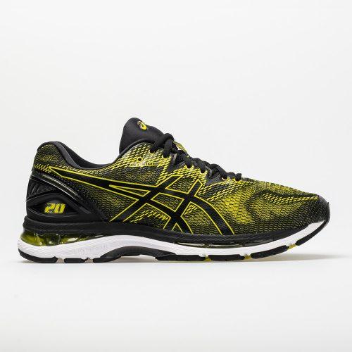ASICS GEL-Nimbus 20: ASICS Men's Running Shoes Sulphur Spring/Black/White