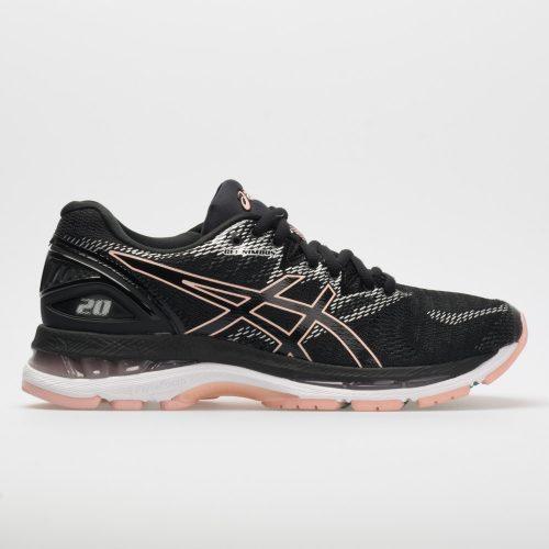 ASICS GEL-Nimbus 20: ASICS Women's Running Shoes Black/Frosted Rose