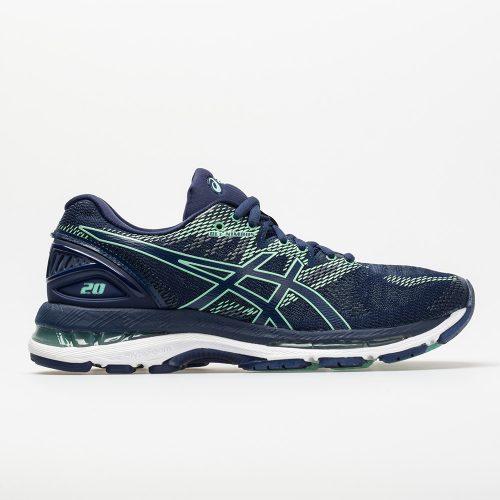 ASICS GEL-Nimbus 20: ASICS Women's Running Shoes Indigo Blue/Indigo Blue/Opal Green