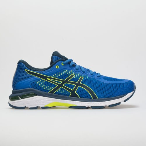 ASICS GEL-Pursue 4: ASICS Men's Running Shoes Victoria Blue/Dark Blue/Safety Yellow