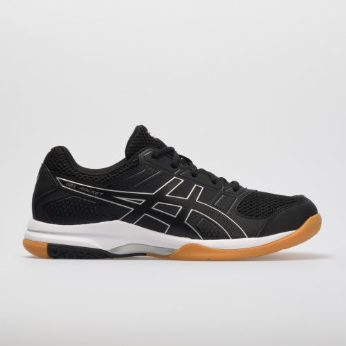 ASICS GEL-Rocket 8: ASICS Women's Indoor, Squash, Racquetball Shoes Black/Black/White