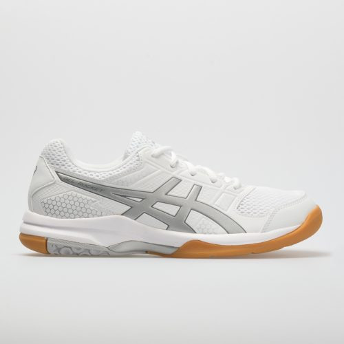ASICS GEL-Rocket 8: ASICS Women's Indoor, Squash, Racquetball Shoes White/Silver/White