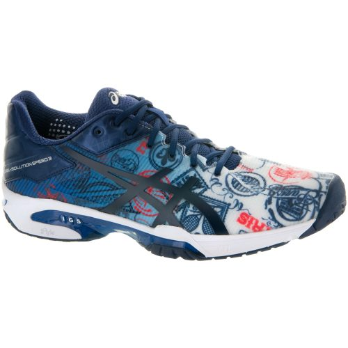 ASICS GEL-Solution Speed 3 Limited Edition Paris: ASICS Men's Tennis Shoes