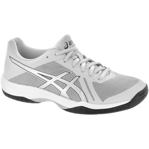 ASICS GEL-Tactic 2: ASICS Women's Indoor, Squash, Racquetball Shoes Glacier Grey/Silver/Dark Grey