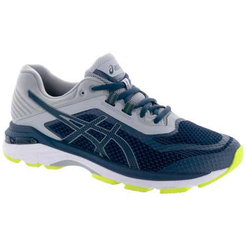 ASICS GT-2000 6: ASICS Men's Running Shoes Dark Blue/Dark Blue/Mid Grey
