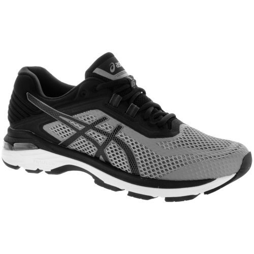 ASICS GT-2000 6: ASICS Men's Running Shoes Stone Grey/Black/White
