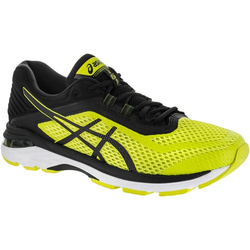 ASICS GT-2000 6: ASICS Men's Running Shoes Sulphur Spring/Black/White