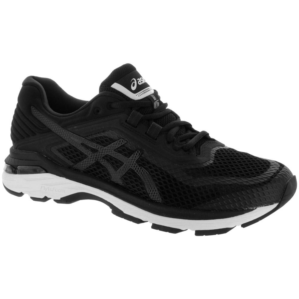 ASICS GT-2000 6: ASICS Women's Running Shoes Black/White/Carbon