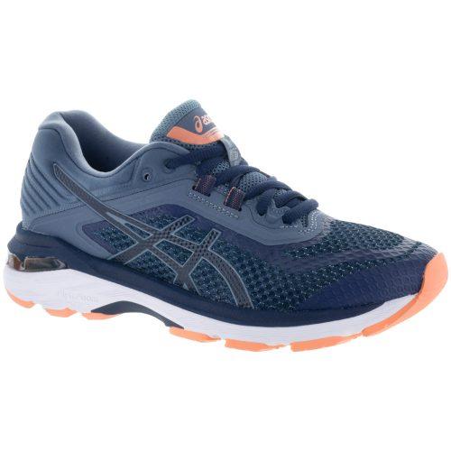 ASICS GT-2000 6: ASICS Women's Running Shoes Indigo Blue/Indigo Blue/Smoke Blue