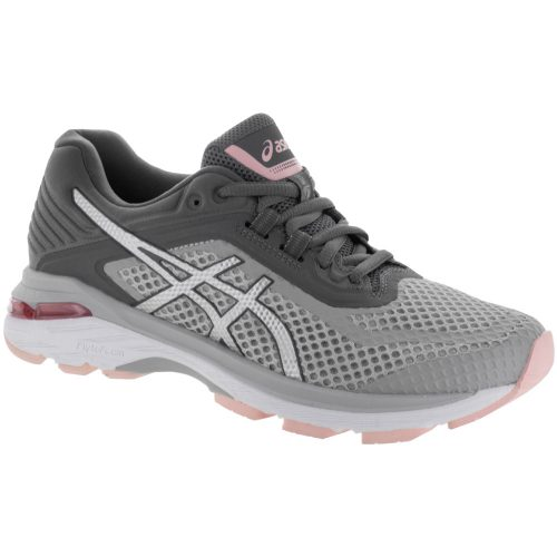 ASICS GT-2000 6: ASICS Women's Running Shoes Mid Grey/Silver/Carbon