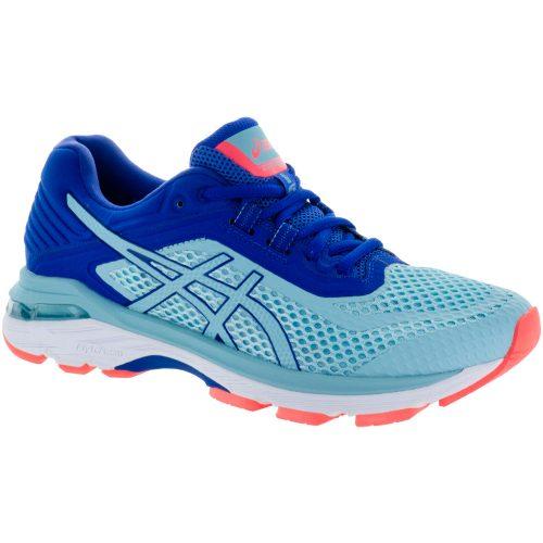 ASICS GT-2000 6: ASICS Women's Running Shoes Porcelain Blue/ASICS Blue