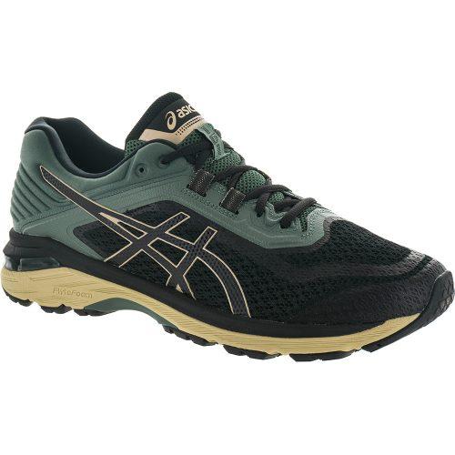 ASICS GT-2000 6 Trail: ASICS Men's Running Shoes Black/Dark Forest
