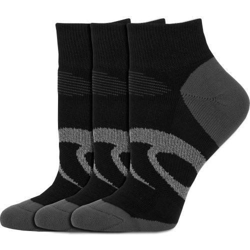 ASICS Intensity Quarter Socks (3 Pack): ASICS Socks