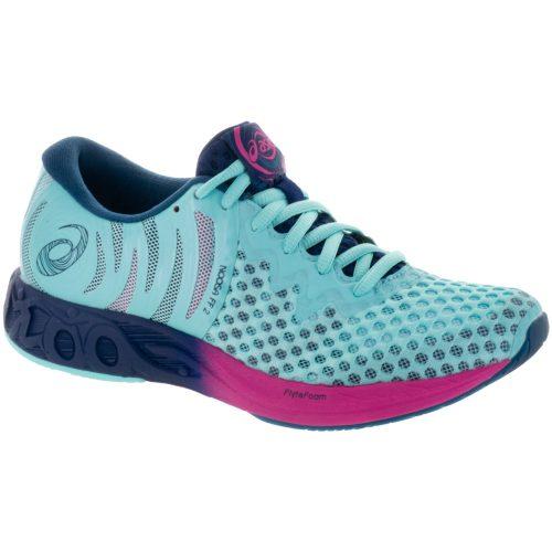 ASICS Noosa FF 2: ASICS Women's Running Shoes Aruba Blue/Indigo Blue/Fuschia Purple
